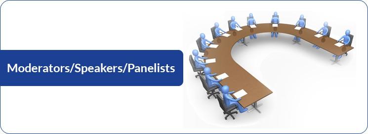 Moderators/Speakers/Panelists