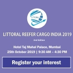 LITTORAL REEFER CARGO INDIA 2019