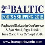 2nd Baltic Ports & Shipping 2018