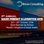 3rd Annual Saudi Freight & Logistics 2018